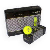 Vision_ProTour V_SuperYellow_Golfball_12er_Box