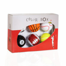 Magballs magnetischer Golfball Color Box Sport in Verpackung